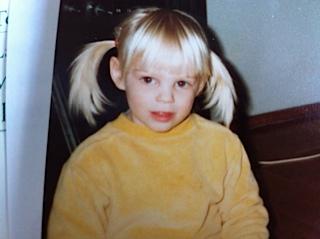 Lukas Svärd som barn